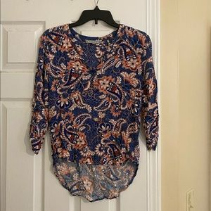 Daniel Rainn boho paisley blouse